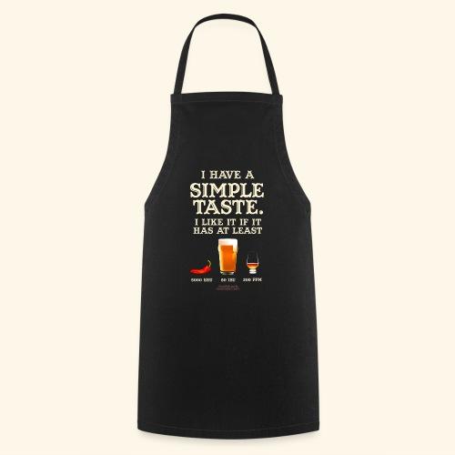 Whisky, Chili, Bier - Kochschürze