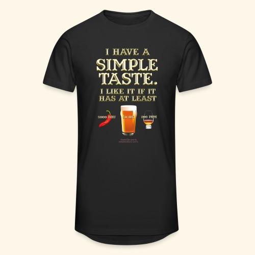 Whisky, Chili, Bier - Männer Urban Longshirt