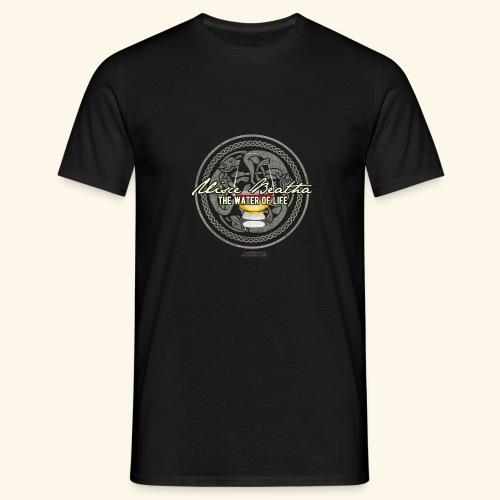 Whisky T Shirt Uisce Beatha - Männer T-Shirt