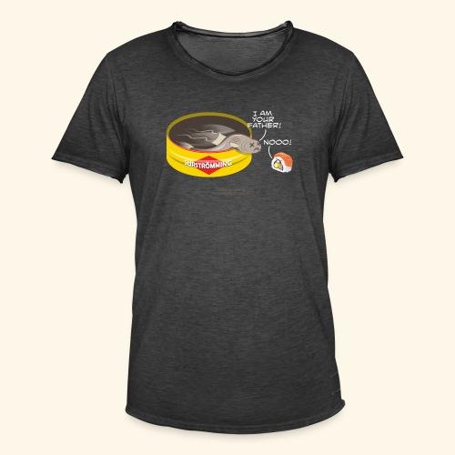 Surströmming & Sushi - Männer Vintage T-Shirt