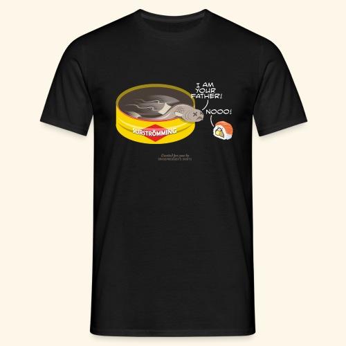 Surströmming & Sushi - Männer T-Shirt