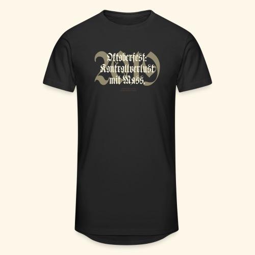 Oktoberfest T Shirt Kontrollverlust mit Mass - Männer Urban Longshirt