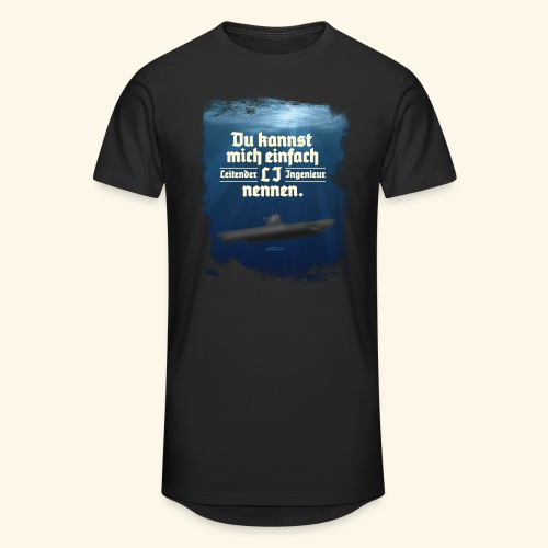 Ingenieur T Shirt Leitender Ingenieur LI - Männer Urban Longshirt