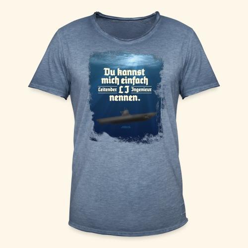 Ingenieur T Shirt Leitender Ingenieur LI - Männer Vintage T-Shirt