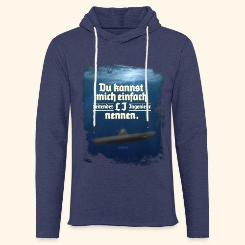 Ingenieur T Shirt Leitender Ingenieur LI - Leichtes Kapuzensweatshirt Unisex