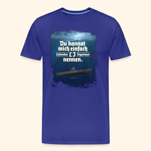 Ingenieur T Shirt Leitender Ingenieur LI - Männer Premium T-Shirt