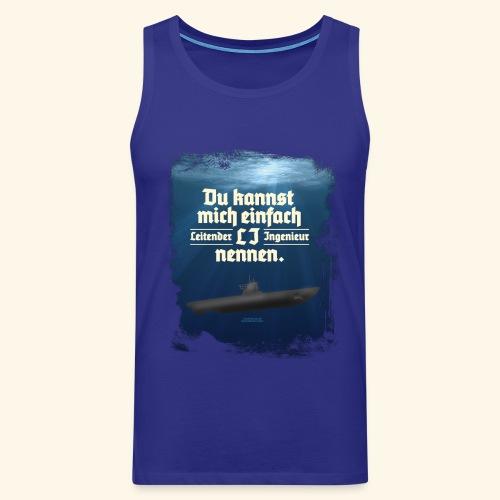 Ingenieur T Shirt Leitender Ingenieur LI - Männer Premium Tank Top