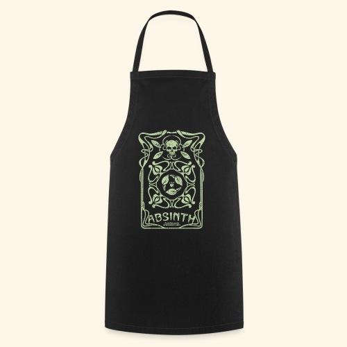 Absinth T Shirt Art Deco - Kochschürze