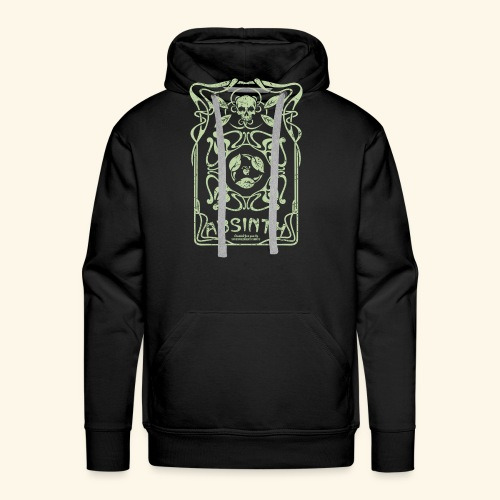 Absinth T Shirt Art Deco - Männer Premium Hoodie