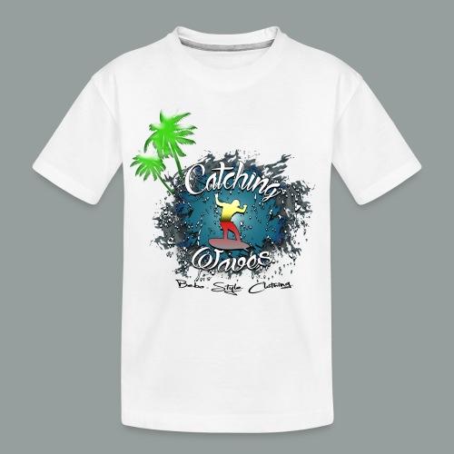 Catching waves - Teenager Premium Bio T-Shirt