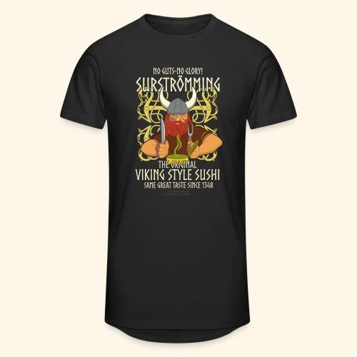 Surströmming T Shirt Viking Sushi - Männer Urban Longshirt