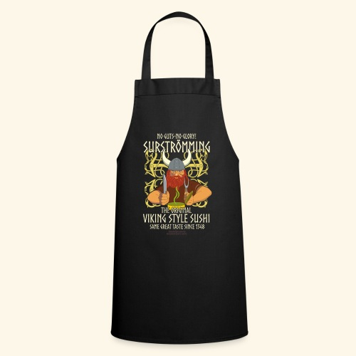 Surströmming T Shirt Viking Sushi - Kochschürze