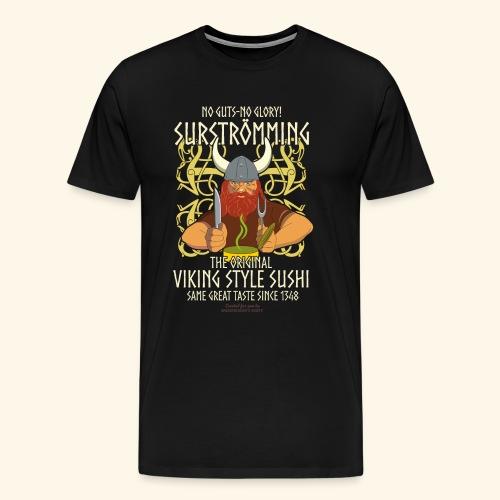 Surströmming T Shirt Viking Sushi - Männer Premium T-Shirt