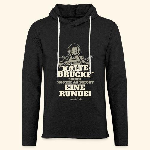 Bauingenieur T Shirt Kältebrücke witziger Spruch  - Leichtes Kapuzensweatshirt Unisex