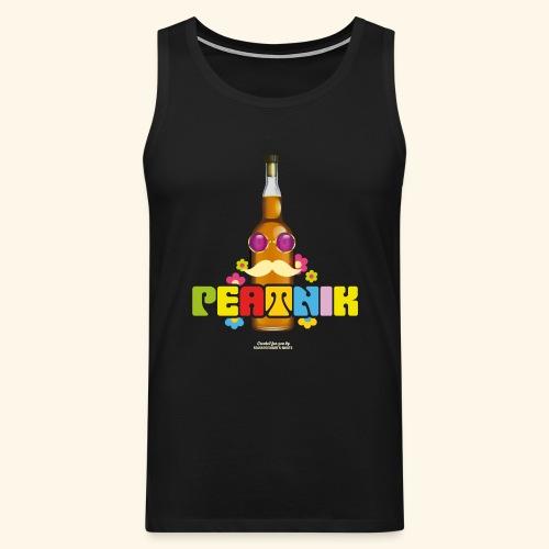 Whisky T Shirt Peatnik - Männer Premium Tank Top