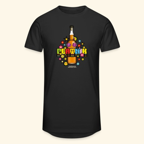 Whisky T Shirt Peatnik - Männer Urban Longshirt