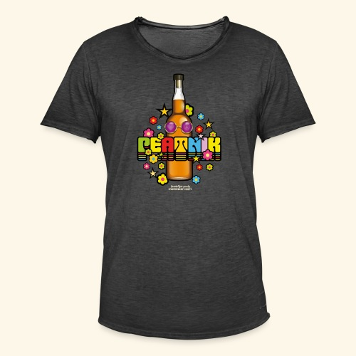 Whisky T Shirt Peatnik - Männer Vintage T-Shirt