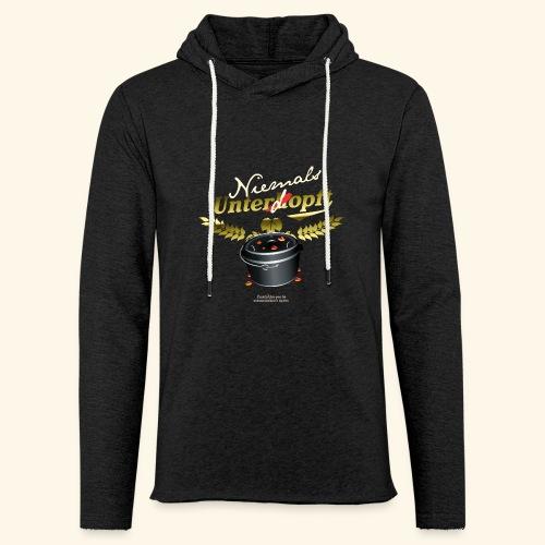 Dutch Oven T Shirt Niemals unterdopft - Leichtes Kapuzensweatshirt Unisex