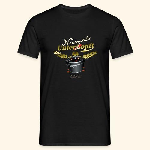 Dutch Oven T Shirt Niemals unterdopft - Männer T-Shirt