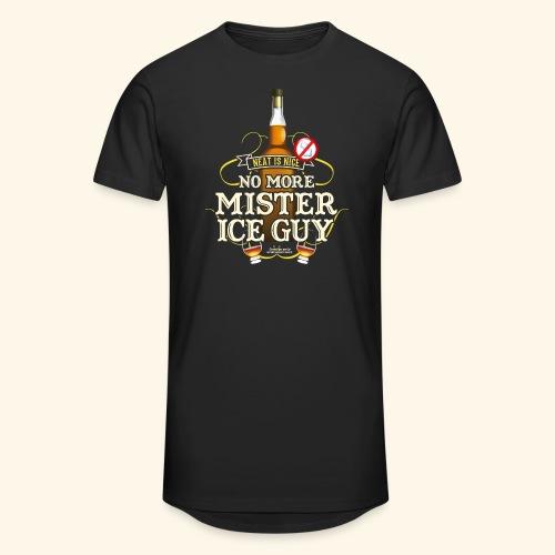 Whisky T Shirt No More Mister Ice Guy - Männer Urban Longshirt