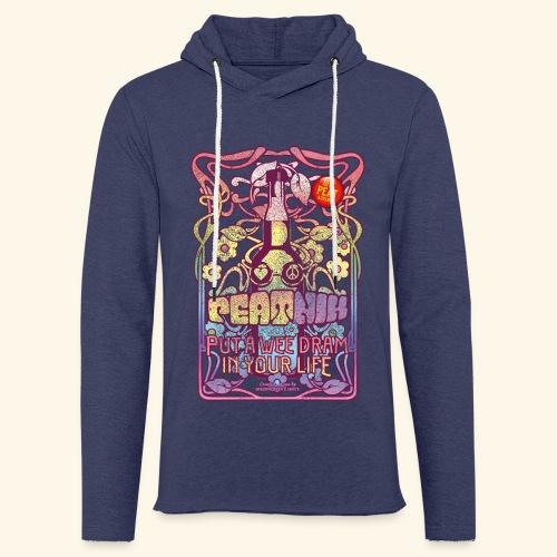 Whisky T Shirt Peatnik für Whiskykenner - Leichtes Kapuzensweatshirt Unisex