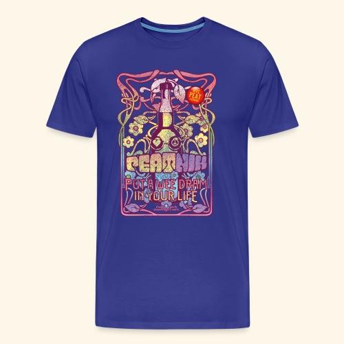 Whisky T Shirt Peatnik für Whiskykenner - Männer Premium T-Shirt