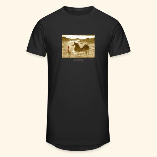 Geek T Shirt Excalibur 2.0 - Männer Urban Longshirt