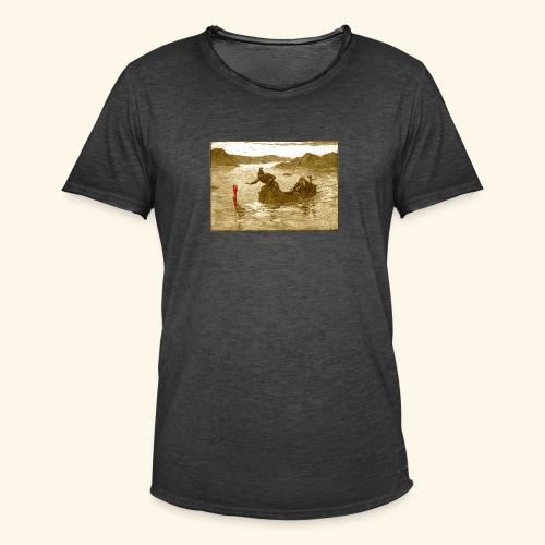 Geek T Shirt Excalibur 2.0 - Männer Vintage T-Shirt