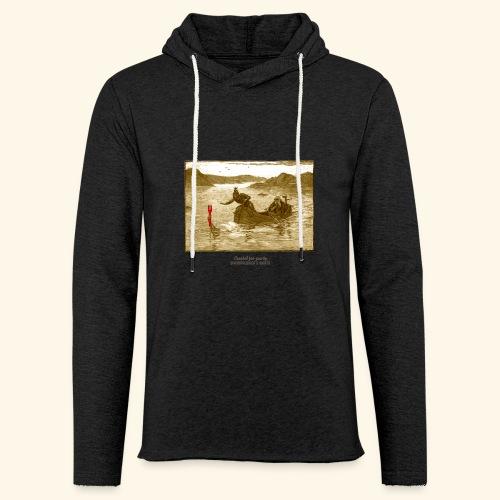 Geek T Shirt Excalibur 2.0 - Leichtes Kapuzensweatshirt Unisex