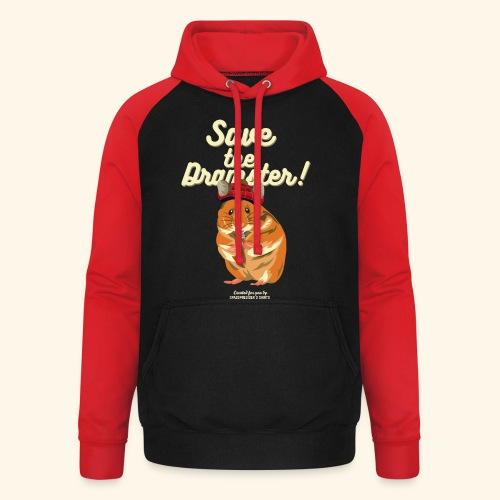 Whisky T Shirt Save the Dramster! - Unisex Baseball Hoodie