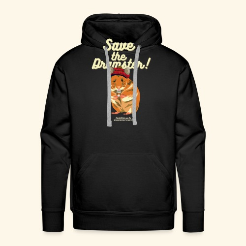 Whisky T Shirt Save the Dramster! - Männer Premium Hoodie