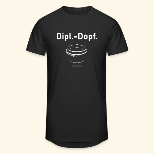 Grill T Shirt Dipl.-Dopf. für Dutch Oven Fans - Männer Urban Longshirt