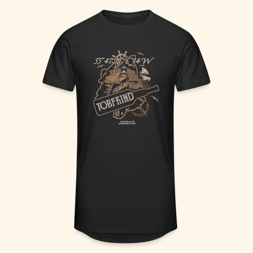 Whisky T Shirt Torfkind für Islay Fans - Männer Urban Longshirt