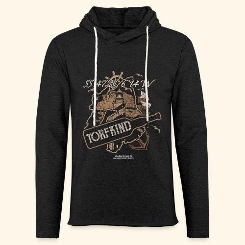 Whisky T Shirt Torfkind für Islay Fans - Leichtes Kapuzensweatshirt Unisex