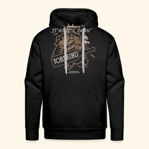 Whisky T Shirt Torfkind für Islay Fans - Männer Premium Hoodie