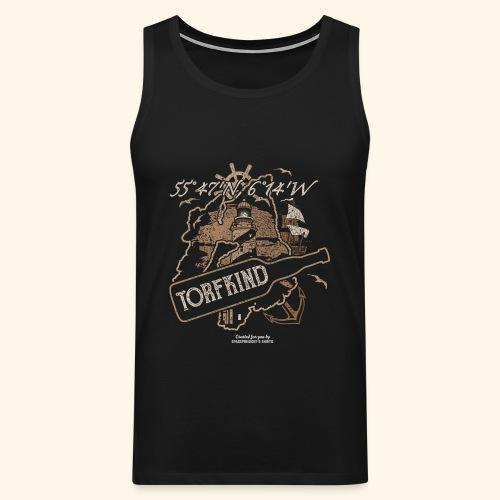 Whisky T Shirt Torfkind für Islay Fans - Männer Premium Tank Top