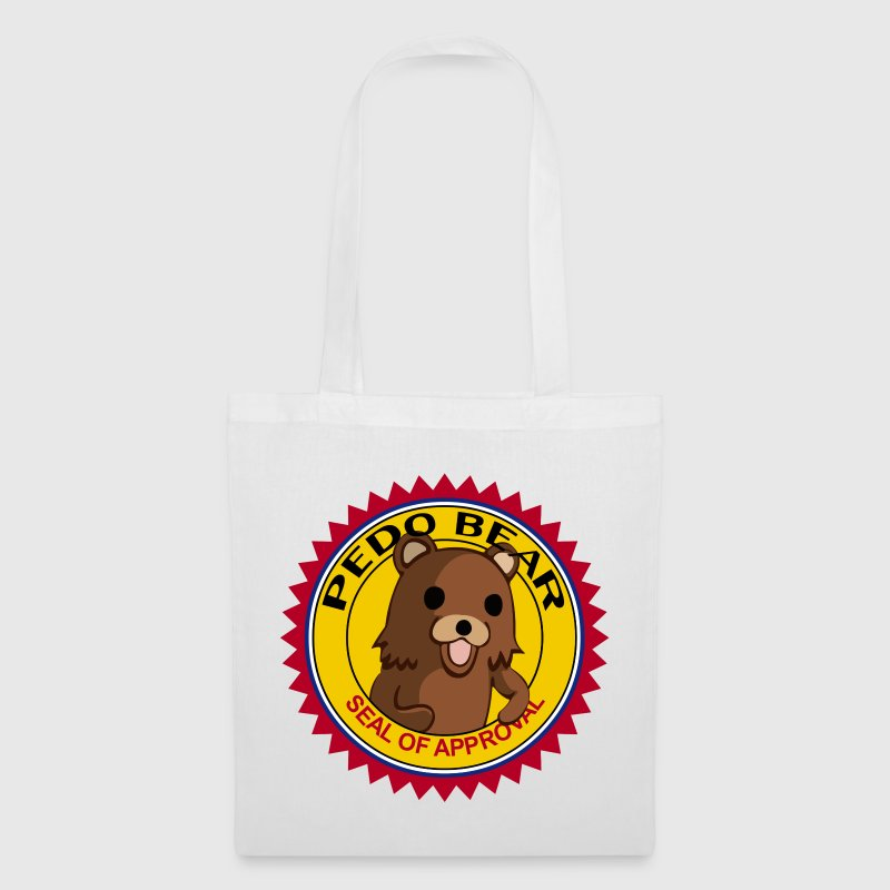 White pedobear-transparent Accessories - Tote Bag