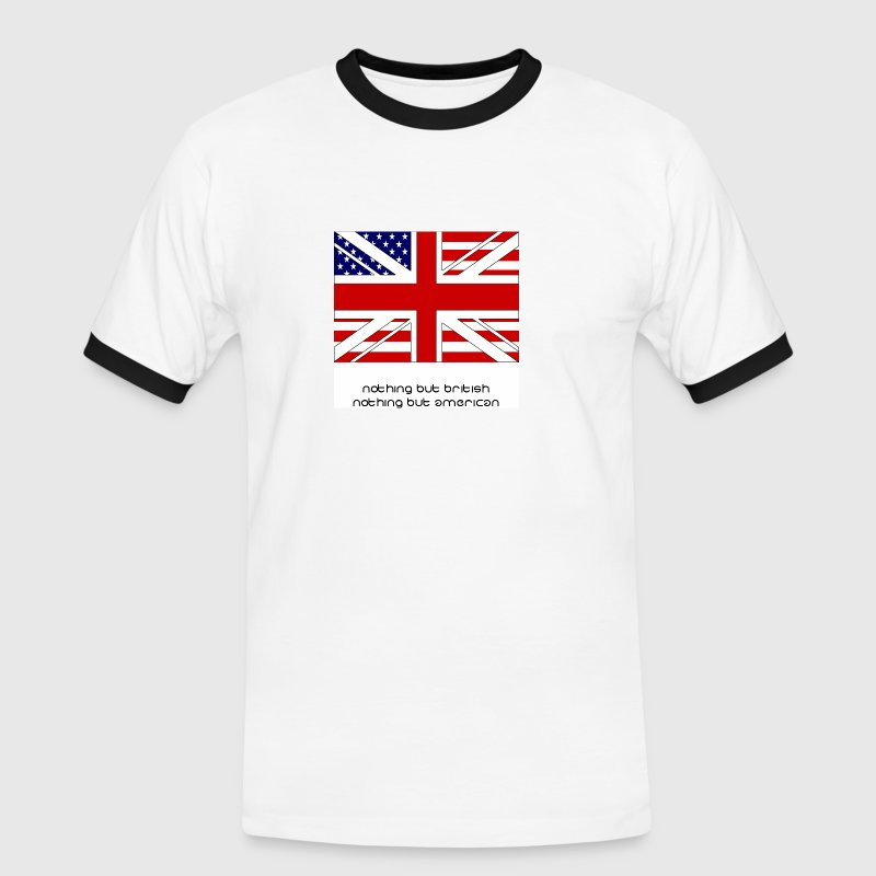 Nothing But British, American Style - Men's Ringer Shirt