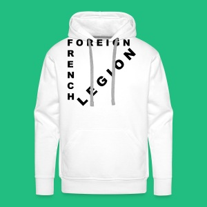 Sweat shirt French Foreign Legion - Sweat-shirt à capuche Premium pour hommes