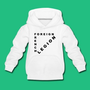 Sweat shirt French Foreign Legion - Pull à capuche Premium Enfant