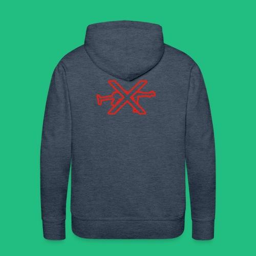 GUN X BV - Sweat-shirt à capuche Premium pour hommes