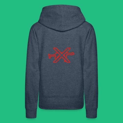 GUN X BV - Sweat-shirt à capuche Premium pour femmes