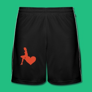 LOVE BN - Short de football Homme