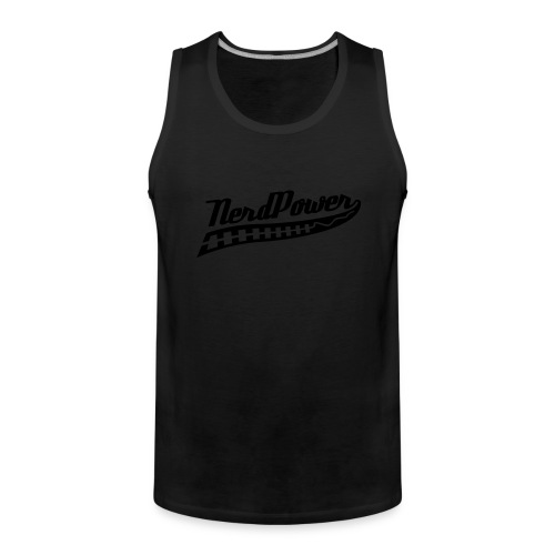 NerdPower - Men's Premium Tank Top