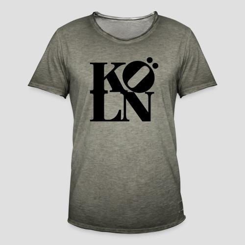 KÖLN - Männer Vintage T-Shirt