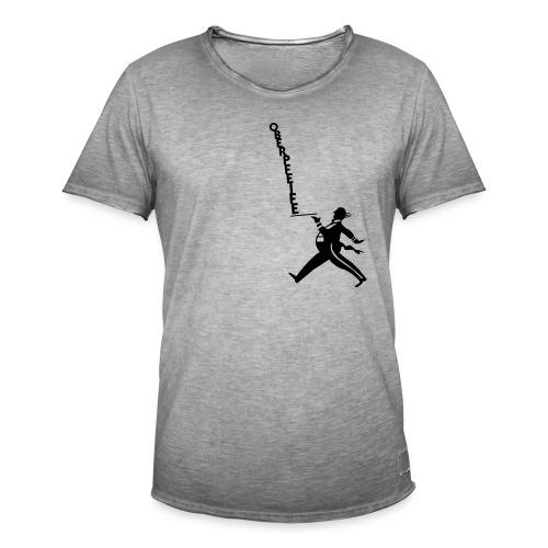 Oberpfeife - Männer Vintage T-Shirt