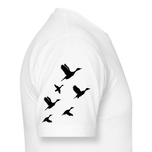 gaggle of geese - Men's Long Body Urban Tee