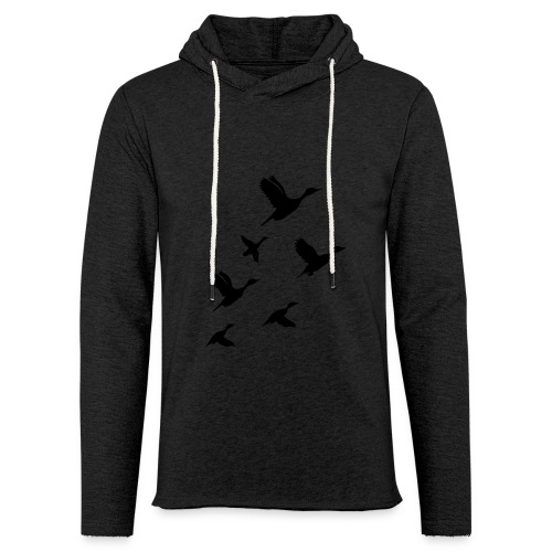 gaggle of geese - Light Unisex Sweatshirt Hoodie