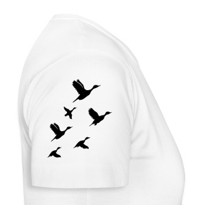gaggle of geese - Women's T-Shirt