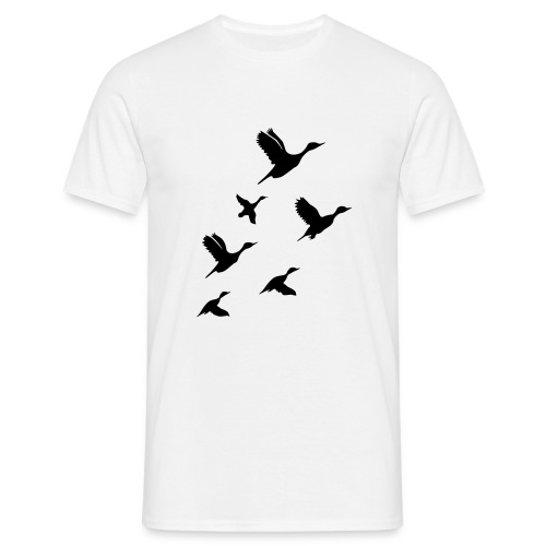 gaggle of geese - Men's T-Shirt
